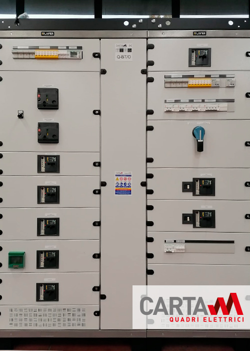 Realizzazione quadro elettrico di automazione per Galleria prosecco lato ovest